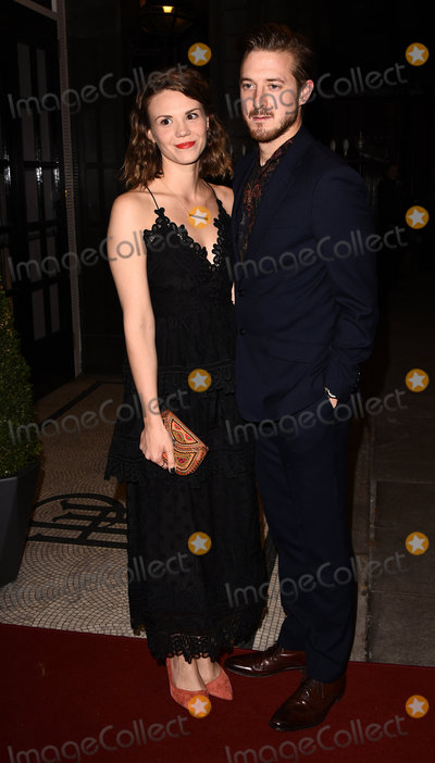 Arthur Darvill Photo - London UK Ines De Clercq and Arthur Darvill at the Sheraton Grand London Park Lane launch party held at  Sheraton Grand London Park Lane Piccadilly London on 20 October 2016 Ref LMK392 -46019-251113Vivienne VincentLandmark Media WWWLMKMEDIACOM