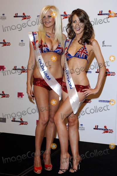 Michelle Marsh Photo - London UK Miss Great Britain finalists Michelle Marsh (Oldham)  Nicola Tappenden (Croydon) pose for  photographers at the Riverside Plaza Hotel 20th May 2007 Ali KadinskyLandmark Media