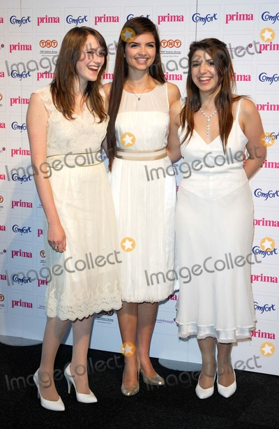 All Angels Photo - London UK  Three members of the British classic pop band All Angels  at the Prima High Street Fashion Awards held at the Battersea Evolution London 13th  September 2007  L-R  Charlotte Ritchie Melanie Nakhla  and DaisyChute (Not present is Laura Wright)Keith MayhewLandmark Media