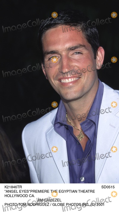 Angel Eyes Photo - Sd0515 Angel Eyespremiere the Egyptian Theatre Hollywood CA Jim Caviezel Phototom Rodriguez  Globe Photos Inc (C) 2001 Sd0515 Angel Eyespremiere the Egyptian Theatre Hollywood CA Jim Caviezel Phototom Rodriguez  Globe Photos Inc (C)