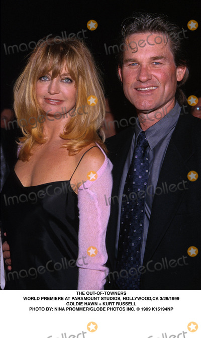 Goldie Photo - 032999 the Out-of-towners World Premiere at Paramount Studios Hollywood CA Goldie Hawn  Kurt Russell Photo by Nina PrommerGlobe Photos Inc