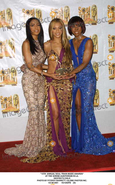 Train Photo - 15th Annual Soul Train Music Awards at the Shrine Auditorium in LA Destinys Child Photo by Fitzroy Barrett  Globe Photos Inc 2-28-2001 K21202fb (D)