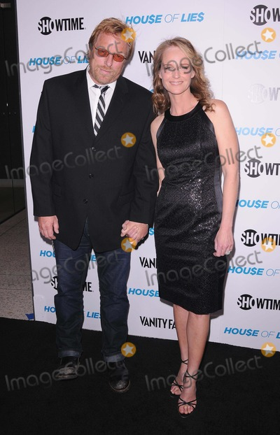 Matthew Carnahan Photo - Premiere Party  Screening of House of Lies at the Att Center in Los Angeles CA 1412 Photo by Scott Kirkland-Globe Photos copyright 2012 Executive Producer Matthew Carnahan and Helen Hunt