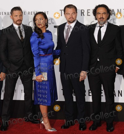 Tom Hardy Photo - Tom Hardy Grace Dove Leonardo Dicaprio Alejandro Gonzalez attending the Los Angeles Premiere of the Revenant Held at the Tcl Chinese Theatre in Hollywood California on December 16 2015 Photo by David Longendyke-Globe Photos Inc
