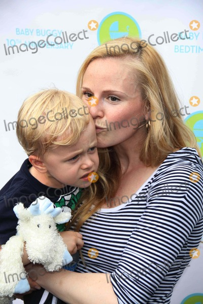 John B Photo - ROSIE POPE and son JRPOPE  at JessicaJerry Seinfeld host the 10th Anniversay Baby Buggy Bedtime Bash a non-profit orgdedicated to families in need equipmentclothingproducts educational tools at Wollman rink in central park 6-1-11Photo by John BarrettGlobe Photos INC2011