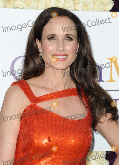 ANDI MACDOWELL Photo - Andie Macdowell attending the Hallmark Channel and Hallmark Movies  Mysteries Summer 2015 Tca Press Tour Held at a Private Residence in Beverly Hills California on July 29 2015 Photo by D Long- Globe Photos Inc