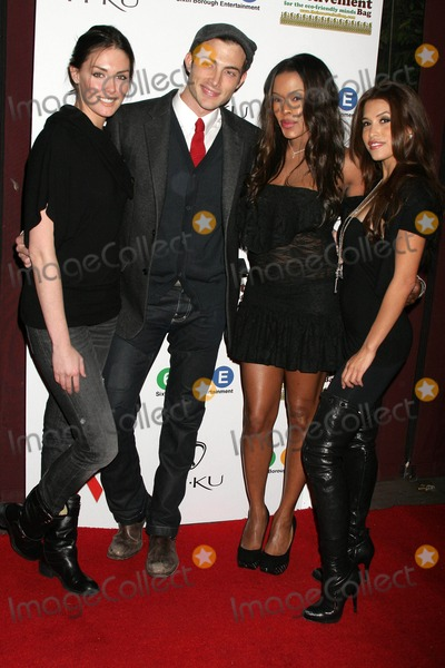 Golden Brooks Photo - Brandon Trenthams Aids Marathon Charity Benefit Hosted by Rachel Sterling at Janes House in Hollywood California 12-06-2009 Taylor Cole Brandon Trentham Golden Brooks and Rachel Sterling Photo by Clinton H Wallace-ipol-Globe Photos Inc