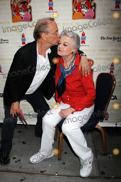 Joel Grey Photo - Angela Lansbury and Joel Grey Attend the Broadway Barks 14th Annual Animal Adoption Event in Shubert Alley in New York on July 14 2012 Upi Laura Cavanaugh