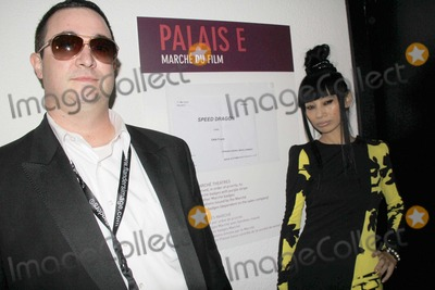 Bai Ling Photo - the 66th Annual Cannes International Film Festival - Speed Dragon Screening Palais de Festival Cannes France 05182013 Dan Frank-director and Bai Ling Photo Clinton H Wallace-photomundo-Globe Photos Inc