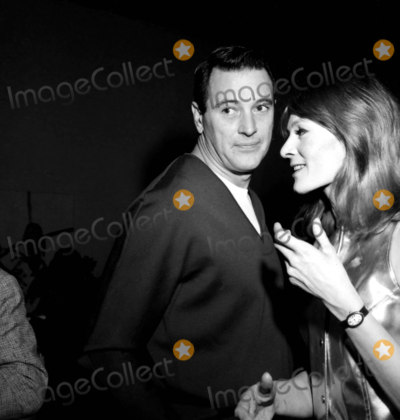Rock Hudson Photo - Rock Hudson and Vanessa Redgrave B893-10 Nate CutlerGlobe Photos Inc