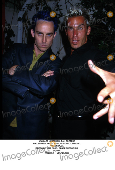 Dan Cortese Photo - 072999 Wallace Langham  Dan Cortese NBC Summer Press Tour Ritz Carlton Hotel Pasadena CA Photo by Lisa RoseGlobe Photos Inc