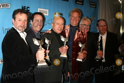 Albert Berger Photo - 22nd Independent Spirit Awards - Press Room Santa Monica Pier Santa Monica California 02-24-2007 Peter Saraf David T Friendly Alan Arkin Marc Turtletaub Ron Yerxa and Albert Berger Winners Best Feature For Little Miss Sunshine