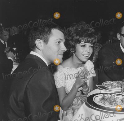 Nancy Sinatra Photo - Nancy Sinatra with Tommy Sands at carols nitesupplied by Globe Photos Inc