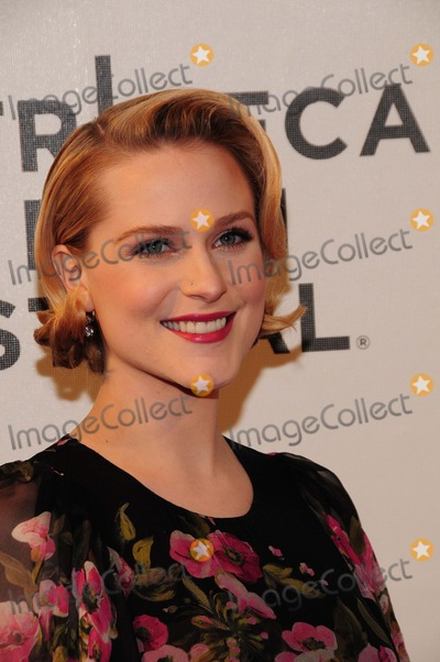 Evan Rachel Wood Photo - A Case of You Premiere Tribeca Performing Arts Center Ny4-21-2013 Photo by - Ken Babolcsay IpolGlobe Photos 2013 Evan Rachel Wood