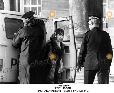Keith Moon Photo - The Who Keith Moon Photo Supplied by Globe Photosinc