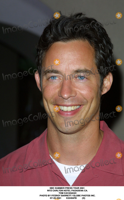 RITZ CARLTON Photo - NBC Summer Press Tour 2001 Ritz Carlton Hotel Pasadena CA Tom Cavanagh Photo by Fitzroy Barrett  Globe Photos Inc 7-20-2001 K22494fb (D)