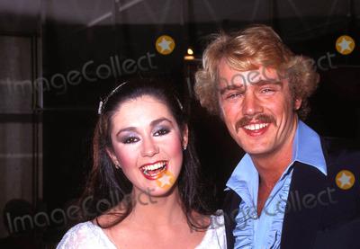 John Schneider Photo - John Schneider and Tawny Little 1982 Photo by Michelson-Globe Photos
