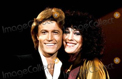 Rita Coolidge Photo - Andy Gibb and Rita Coolidge Photomca  Globe Photos Inc