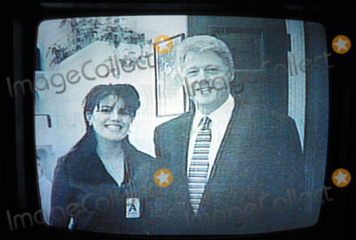 Monica Lewinsky Photo - President Bill Clinton and Monica Lewinsky Photo Supplied by I2848atipolGlobe Photos Inc