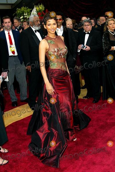 Halle Berry Photo - 74th Academy Awards Hollywood and Highland Holywood CA 03242003 Photo by Fitzroy BarrettGlobe Photosinc2002 Halle Berry