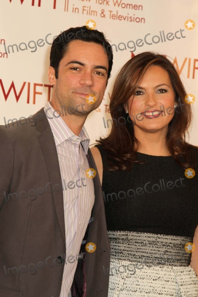 Mariska Hargitay Photo - New York Women in Film and Television 32nd Annual Muse Awards the New York Hilton NY December 13 2012 Photos by Sonia Moskowitz Globe Photos Inc 2012 Danny Pino Mariska Hargitay