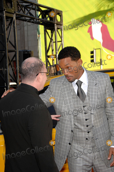 Akiva Goldsman Photo - Akiva Goldsman and Will Smith During the Premiere of the New Movie From Columbia Pictures Hancock Held at Graumans Chinese Theatre on June 30 2008 in Los Angeles Photo Michael Germana  Superstar Images - Globe Photos