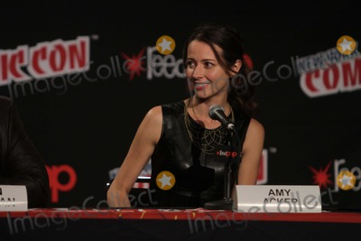 Amy Acker Photo - Amy Ackerperson of Interesttv Show Celebrity Panel at Comic Con at Javits Center 10-12-2014 Photo by John BarrettGlobe Photos