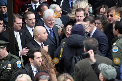 Bill Clinton Photo - Funeral For Former New York City Mayor Edward I Koch Held at Temple Emanu - El in Manhattan Bruce Cotler 2013 Former President Bill Clinton Photo by Bruce Cotler-Globe Photos Inc