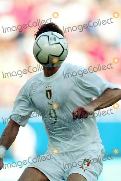 Alberto Gilardino Photo - 2004 Olympic Games in Athens Greece Soccer Tournatment 08212004 Photo Marco Rosi Lapresse Globe Photos Inc 2004 Soccer Tournatment Alberto Gilardino