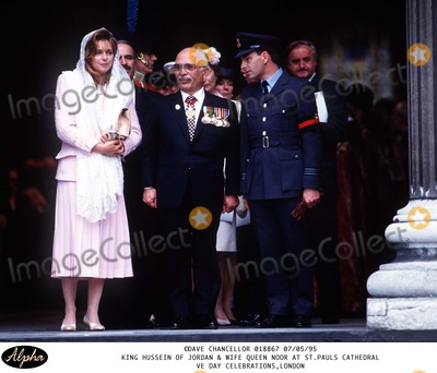 King Queen Photo - Queen Noor
