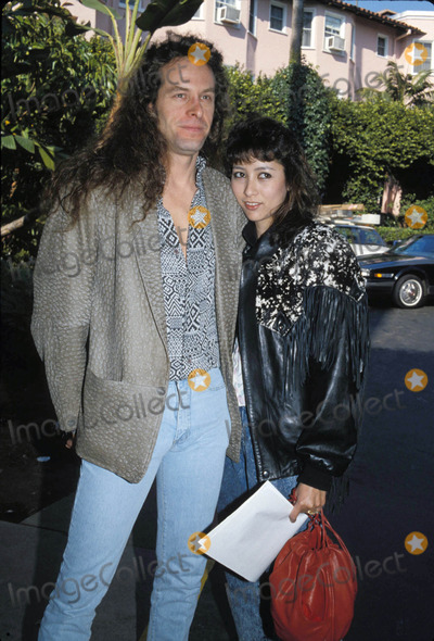 Pele Massa Photo - Ted Nugent and Fiance Pele Massa 01-1997 Photo by Michelson-Globe Photos