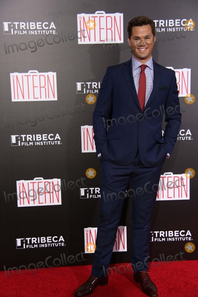Andrew Rannells Photo - Andrew Rannells attends the New York Premiere of the Intern the Ziegfield Theater NYC September 21 2015 Photos by Sonia Moskowitz Globe Photos Inc