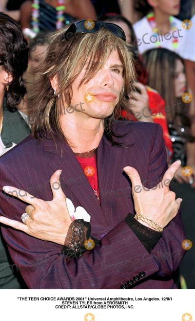 Aerosmith Photo - The Teen Choice Awards 2001 Universal Amphitheatre Los Angeles 1281 Steven Tyler From Aerosmith Credit AllstarGlobe Photos Inc