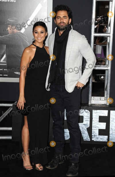 Adrian Bellani Photo - Emmanuelle Chriqui Adrian Bellani attending the Los Angeles Premiere of Creed Held at the Regency Village Theater in Westwood California on November 19 2015 Photo by David Longendyke-Globe Photos Inc