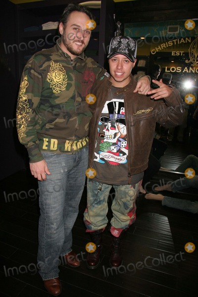 Alex A Quinn Photo - Christian Audigier Holiday Party Christian Audigier Store Los Angeles CA 12-11-2006 Alex Quinn and Carlos Ramirez Photo Clinton H Wallace-photomundo-Globe Photos Inc