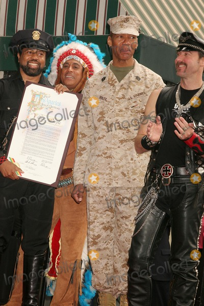 Alexander Briley Photo - the Village People Honored with a Star on the Hollywood Walk of Fame Hollywood Blvd Hollywood CA 091208 the Village People - L-r-ray Simpson Alexander Briley and Eric Anzalone Photo Clinton H Wallace-photomundo-Globe Photos Inc