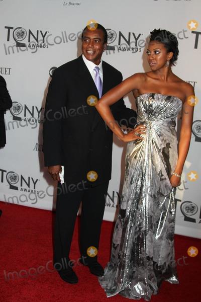 Ahmad Rashad Photo - The 66th Annual Tony Awards the Beacon Theater NYC June 10 2012 Photos by Sonia Moskowitz Globe Photos Inc Ahmad Rashad Condola Rashad
