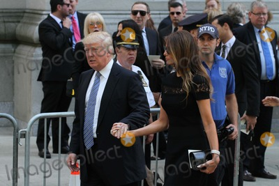 Joan Rivers Photo - Joan Rivers Memorial Held at Temple Emanu-el in Manhattan Her Service Was Attended by Friends Family and Celebrities Donald Trump and Wife