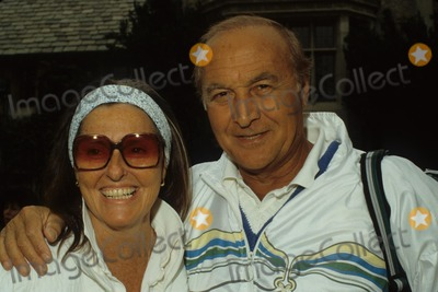 Audrey Loggia Photo - Robert Loggia with Wife Audrey Loggia F8412 Photo by Bob V Noble-Globe Photos Inc