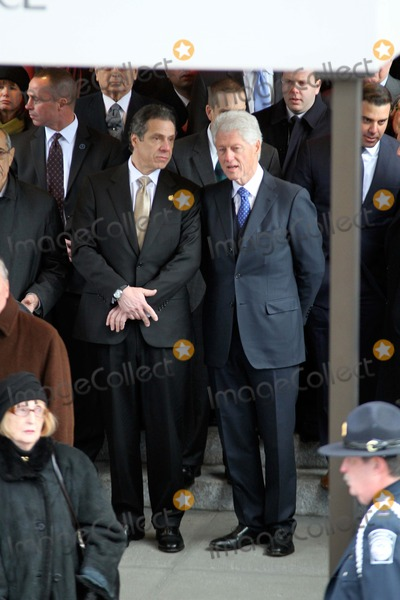 Bill Clinton Photo - Funeral For Former New York City Mayor Edward I Koch Held at Temple Emanu - El in Manhattan Bruce Cotler 2013 Governor Andrew Cuomo  Former President Bill Clinton Photo by Bruce Cotler-Globe Photos Inc