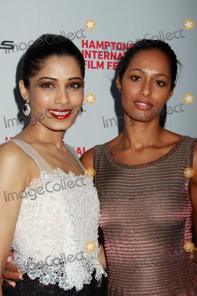Rula Jebreal Photo - The Hamptons International Film Festival 2010 Screening of Miral Directed by Julian Schnabel Ua Theater East Hampton NY 10-08-2010 Photos by Sonia Moskowitz Globe Photos Inc 2010 Frieda Pinto Rula Jebreal