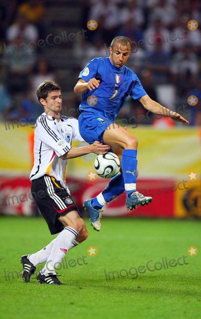 Alessandro Del Piero Photo - Arne Friedrich  Alessandro Del Piero Challenge Germany V Italy Arne Friedrich  Alessandro Del Piero Germany V Italy K48508 World Cup Soccer World Cup Stadium in Dortmund Germany 07-04-