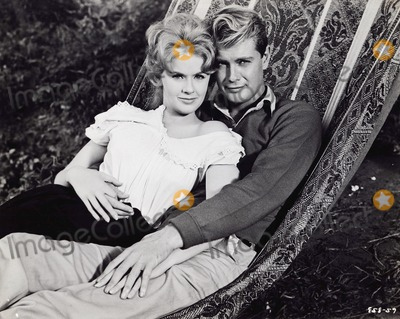 Troy Donahue Photo - Connie Stevens Troy Donahue 1961 Supplied by Globe Photos Inc