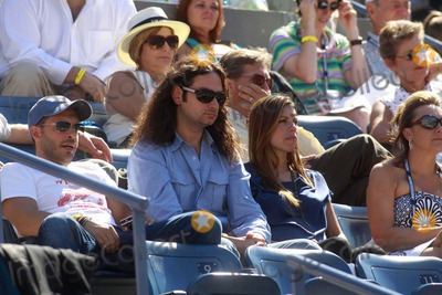 ANGEL REED Photo - Constantine Maroulis and New Wife Angel Reed Whom Is 6 Months Pregnant on Day 8 of Us Open Tennis Flushing NY 09-06-2010 Photo by John BarrettGlobe Photos Inc2010