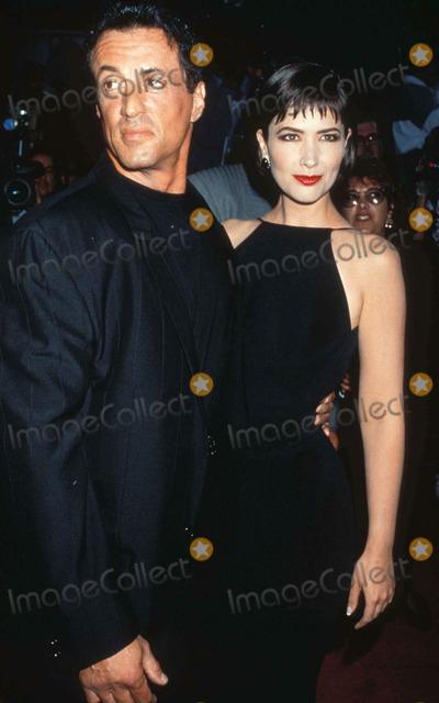 Janine Turner Photo - Sylvester Stallone and Janine Turner Photo by Lisa RoseGlobe Photos