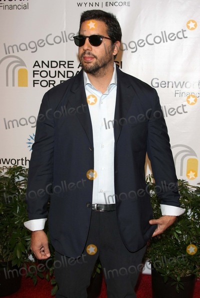 Andre Agassi Photo - David Blaine Illusionist Andre Agassi Foundation For Educations 15th Grand Slam For Children Benefit Concert - Red Carpet the Wynn Las Vegas 10-09-2010 Photo by Graham Whitby Boot-alstar-Globe Phtos Inc 2010