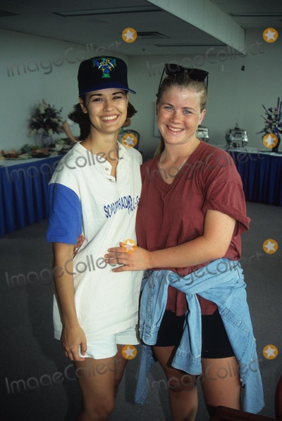 Allison Sweeney Photo - Sydney Penny with Allison Sweeney at Gary Clarks Just Say No to  1st Ann Ball 1994 L8716eg Photo by Ed Geller-Globe Photos Inc