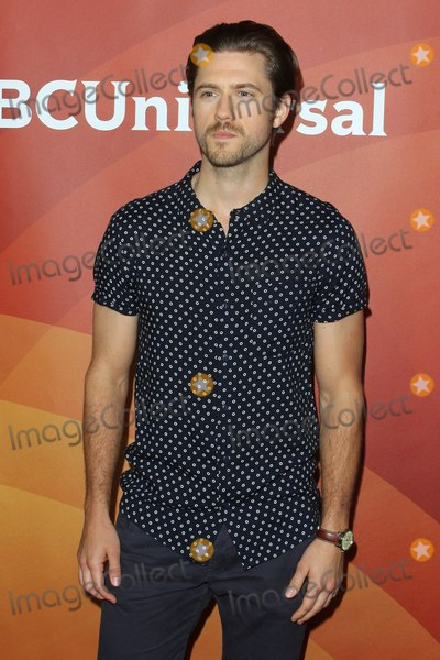 Aaron Tveit Photo - Aaron Tveit attends NBC Universal Summer Press Day 2015 at the Langham Hotel on April 2 2015 in Pasadena California UsaphotoleopoldGlobephotos
