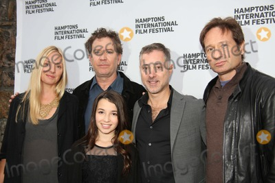 Anthony Fabian Photo - The Hamptons International Film Festival 2013 East Hampton NY October 11 2013 Photos by Sonia Moskowitz Globe Photos Inc 2013 (L-R) Hope Davis Timothy Hutton Olivia Steele Falconer Anthony Fabian and David Duchovny