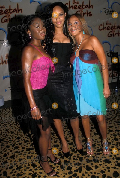 CHEETAHS GIRLS Photo - the Cheetah Girl S Premiere at LA Guardia High School For Music and Arts and Performing Arts New York City 08052003 Photo Barry Talesnick Ipol Globe Photos Inc 2003 3lw Adrienne Bailon and Kiely Williams